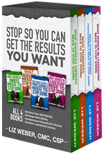 Stop So You Can Get The Results You Want