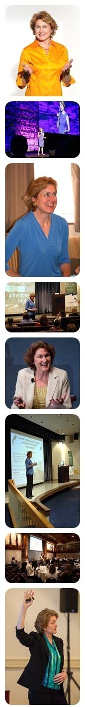Liz Weber CMC CSP Speaking Collage
