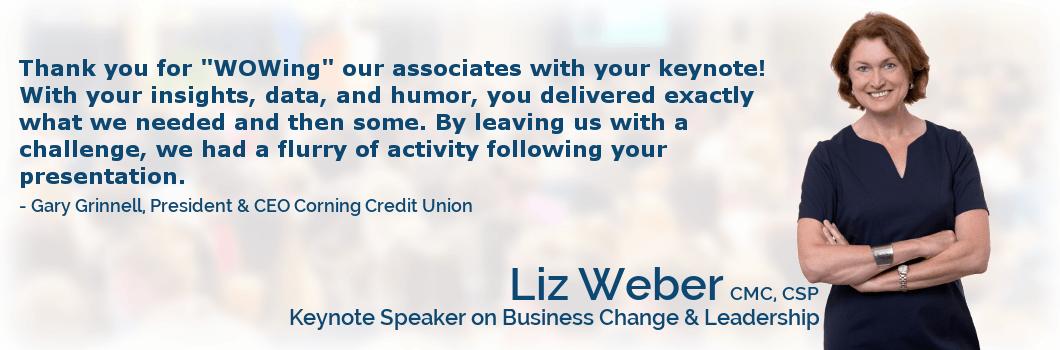 Liz Weber Speaker