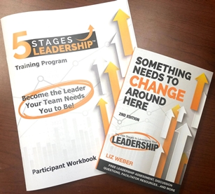 5 Stages Leadership™ Training Program Book & Participant Workbook