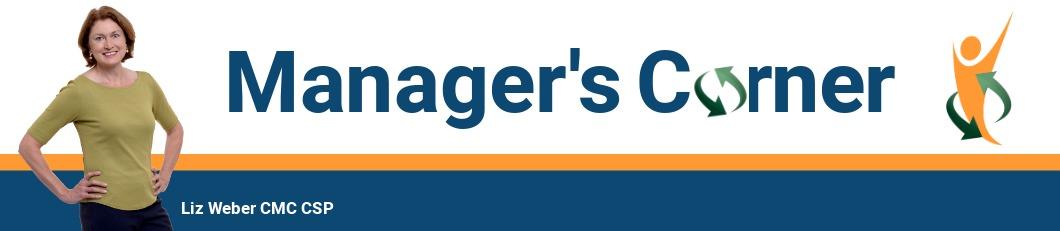Manager's Corner Header